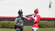 batman vs power ranger