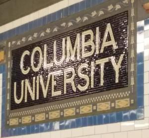 columbia sign